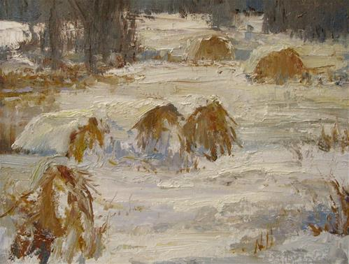 """First Covering"" original fine art by kay  keyes farrar"