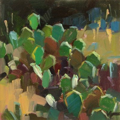 """Owees"" original fine art by Carol Marine"