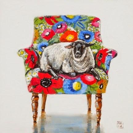 """rebel"" original fine art by Kimberly Applegate"
