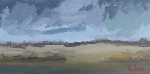 """Norwood Sky"" original fine art by Pamela Munger"