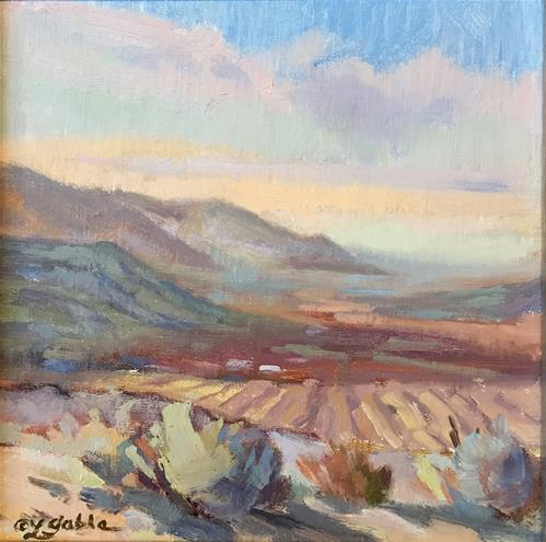 """""""Furrowed Fields"""" original fine art by Laura Gable"""