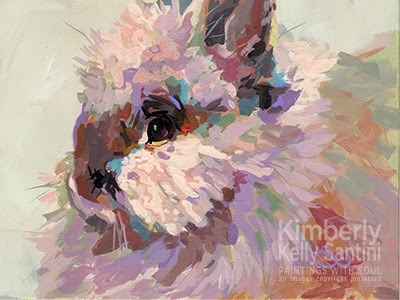 """Bun + In Process Video"" original fine art by Kimberly Santini"