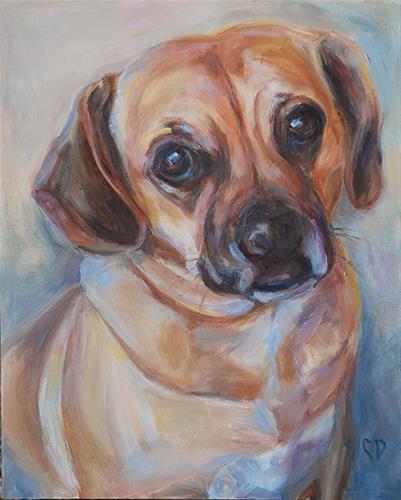 """Willow"" original fine art by Carol DeMumbrum"
