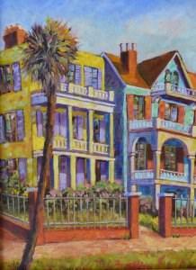 """Charleston Charm"" original fine art by Robert Frankis"