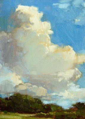 """Sky Dazzle"" original fine art by Laurel Daniel"
