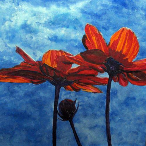 """In the Sunlight"" original fine art by Nan Johnson"
