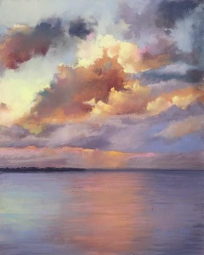 """Day Fades to Night"" original fine art by Pamela Hamilton"