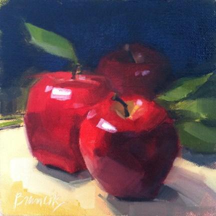 """Apples & Greens"" original fine art by Candace Brancik"