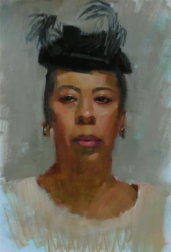 """Art and Music"" original fine art by Kathy Weber"