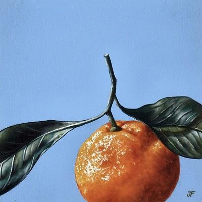 """Satsuma Study #2"" original fine art by Jelaine Faunce"