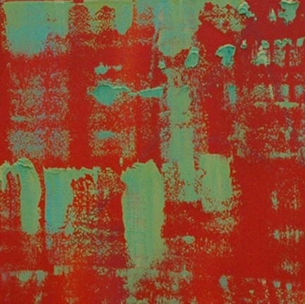 """RED"" original fine art by Linda Popple"
