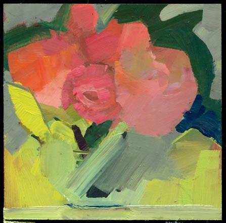 """2588 Paint by Number"" original fine art by Lisa Daria"