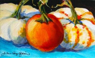 """Three of a Kind"" original fine art by JoAnne Perez Robinson"