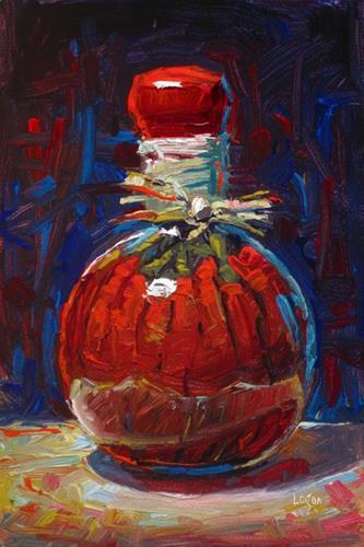 """Pickled Peppers"" original fine art by Raymond Logan"