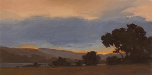 """Glorious Morning (enlarged)"" original fine art by Laurel Daniel"