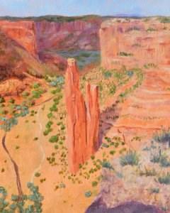 """""""Spider Rock"""" original fine art by Robert Frankis"""