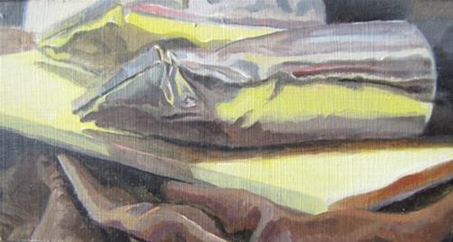 """38 - Tubes"" original fine art by Edward Watson"