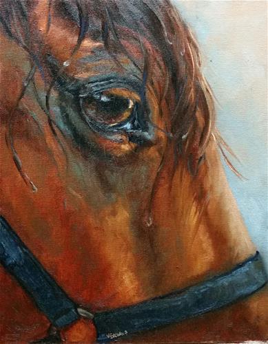 """After the Rain"" original fine art by Veronica Brown"