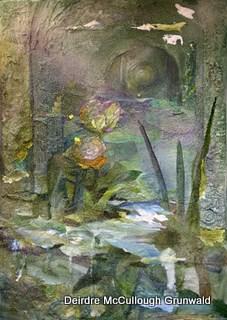 """A Walk In The Woods"" original fine art by Deirdre McCullough Grunwald"
