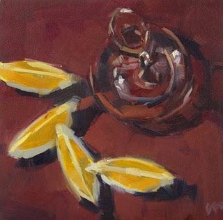 """""""Leading --- n/a"""" original fine art by Carol Marine"""