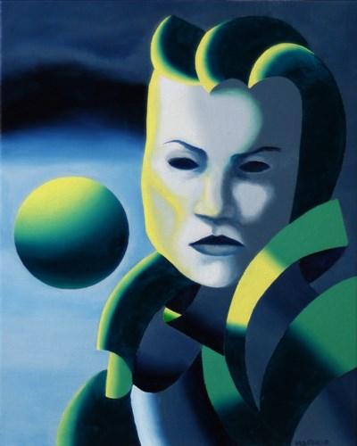 """Mark Adam Webster - Dark Matter Painting Series #1"" original fine art by Mark Webster"