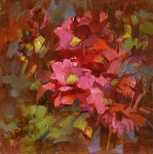 """""""A Passion for Red"""" original fine art by Rita Curtis"""