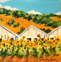 """Test Gardens"" original fine art by JoAnne Perez Robinson"