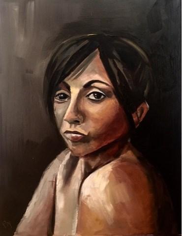 """Freeman"" original fine art by Piya Samant"