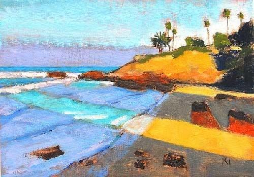 """Morning, Laguna"" original fine art by Kevin Inman"