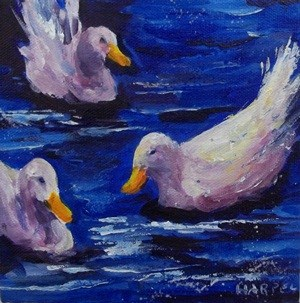 """Untitled"" original fine art by Alice Harpel"