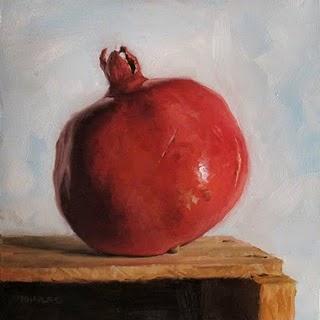 """""""Leaning Left"""" original fine art by Michael Naples"""