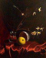 """""""Yellow Sonnet"""" original fine art by Jonathan Aller"""