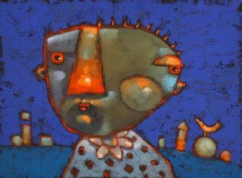 """The Great Pretender"" original fine art by Brenda York"