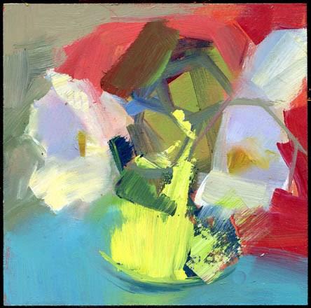 """2390 boblink"" original fine art by Lisa Daria"