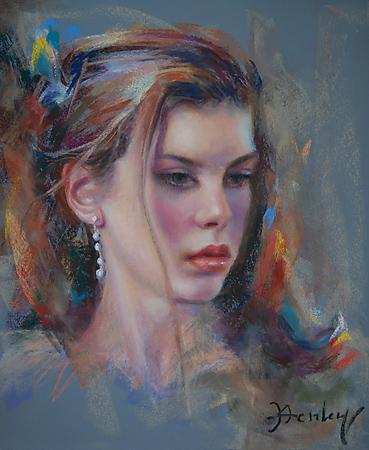 """""""Juliana"""" original fine art by Denise Henley"""