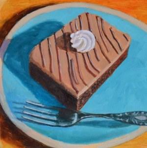 """Late Night Snack"" original fine art by Robert Frankis"