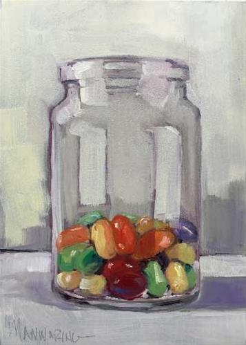 """Jelly Beans"" original fine art by Merle Manwaring"
