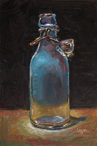 """Solution Citrate Magnesia"" original fine art by Raymond Logan"