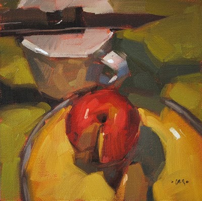 """Wanna Piece of Me?"" original fine art by Carol Marine"