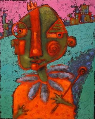 """Bernie's Illusions Of Grandeur"" original fine art by Brenda York"