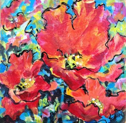 """The Lion's Share"" original fine art by Sue Dion"