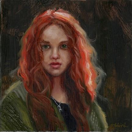 """Brianna"" original fine art by Tahirih Goffic"