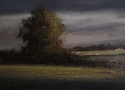 """Day's End at Black Grove"" original fine art by Neil Carroll"