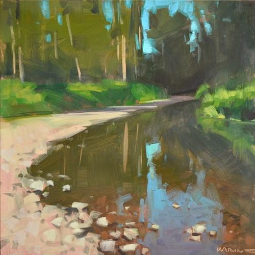 """Clearwater Creek 2"" original fine art by Carol Marine"