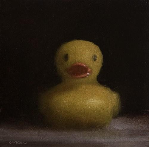 """""""Duck"""" original fine art by Neil Carroll"""