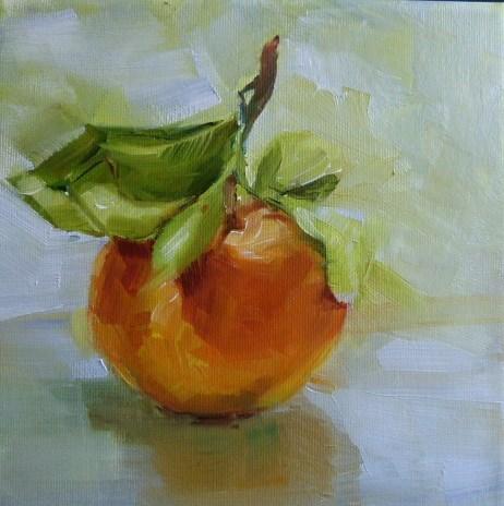 """""""Clementine"""" original fine art by Sabine Hüning"""
