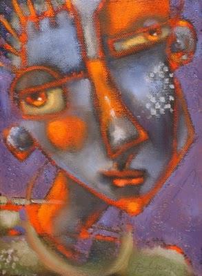 """Purple Haze"" original fine art by Brenda York"