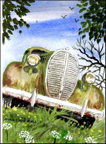 """""""Rust in Peace 2"""" original fine art by Patricia Ann Rizzo"""