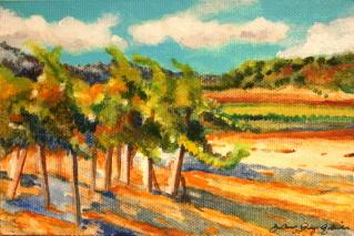 """Senior Vines"" original fine art by JoAnne Perez Robinson"