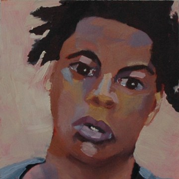"""JOE No. 1"" original fine art by Linda Popple"